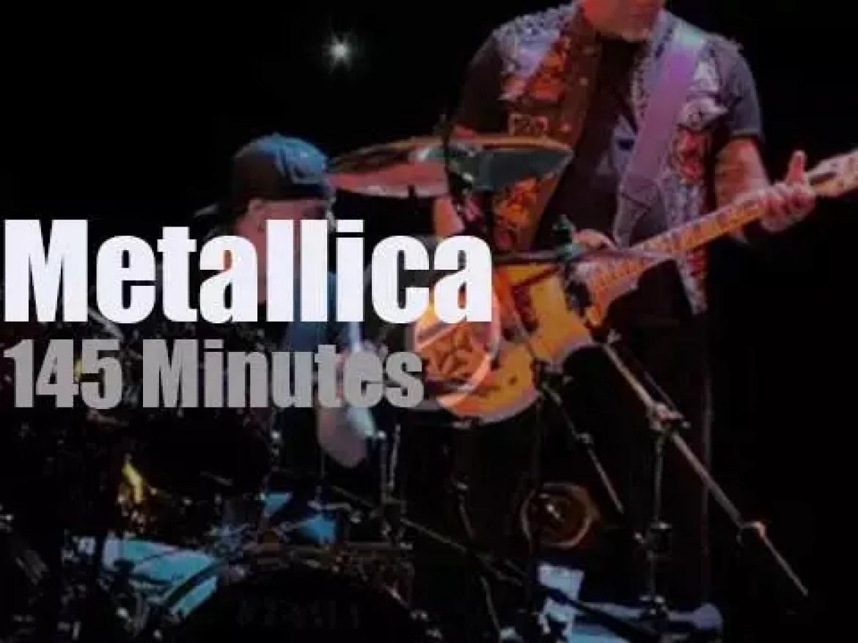 Metallica serenade Krakow in Poland  (2018)