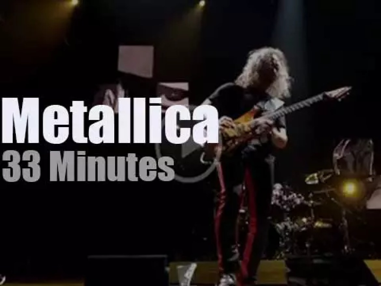 Metallica serenade Munich (2018)