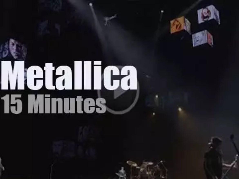 Metallica serenade Oslo (2018)