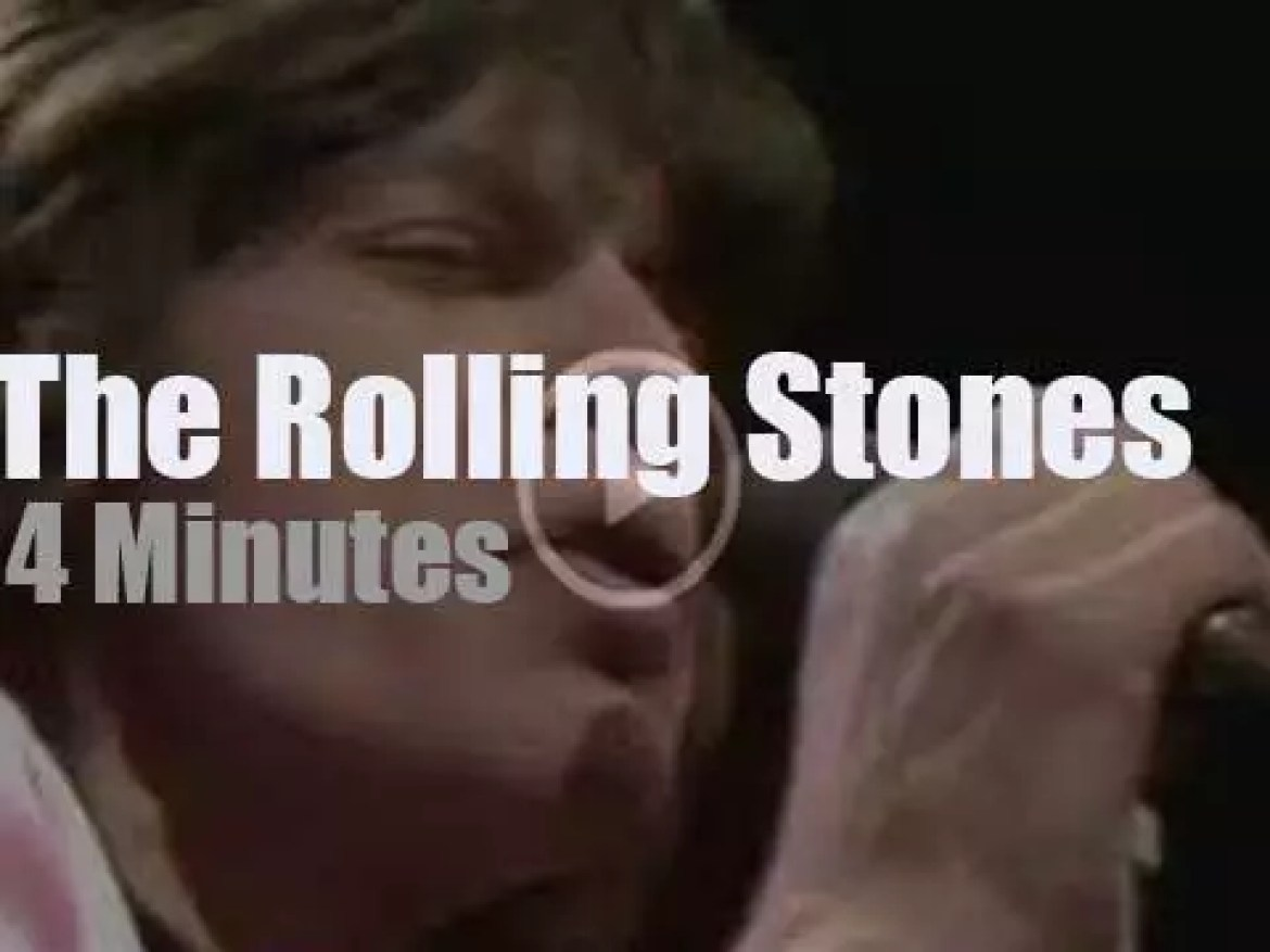 On English TV today,  The Rolling Stones at 'Top of The Pops' (1971)