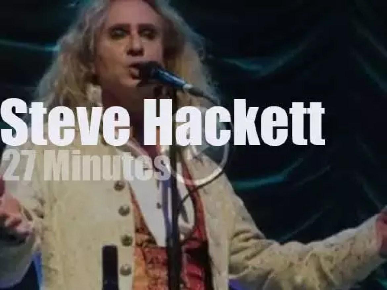 Steve Hackett revisits Genesis in Atlanta (2016)