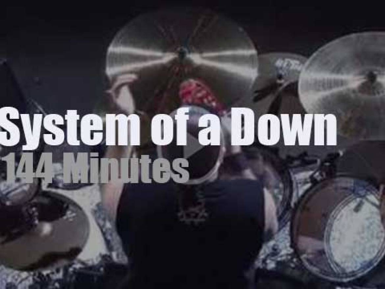 System Of A Down rock Armenia (2015)