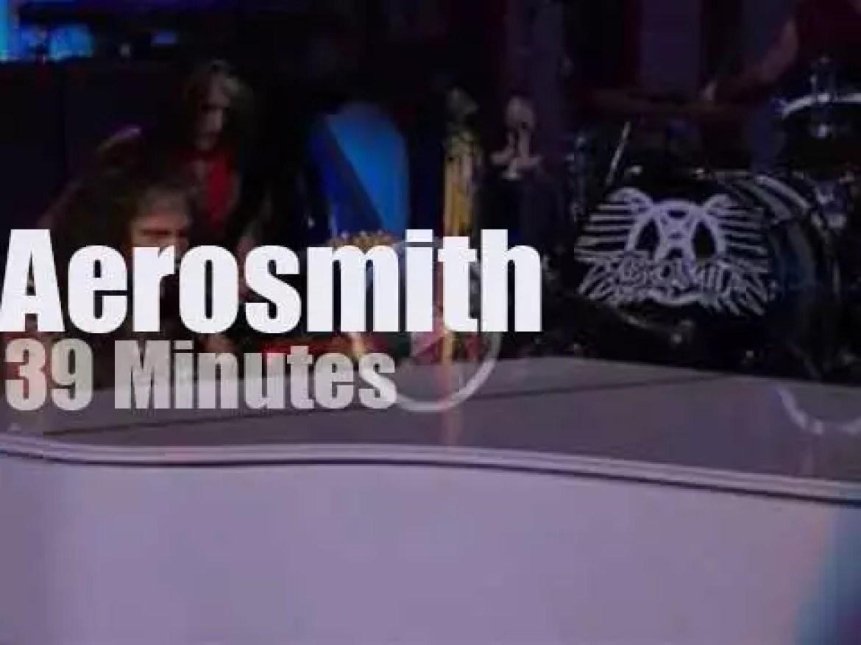 Aerosmith close the 'Boston Strong Benefit Show' (2013)