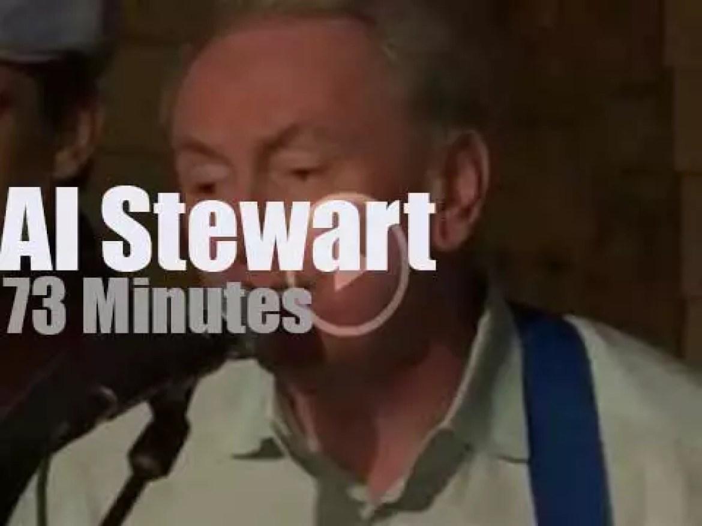 Al Stewart performs unplugged in Houston (2014)