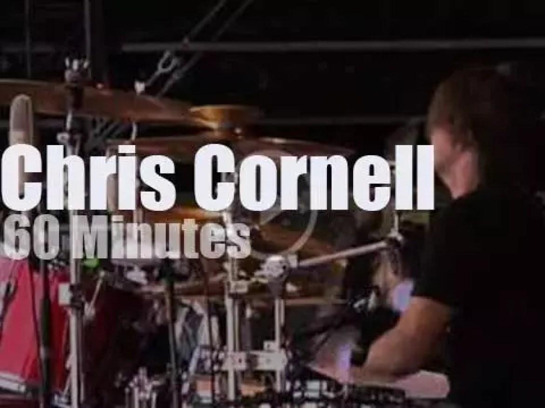Chris Cornell  attends Dutch PinkPop (2009)