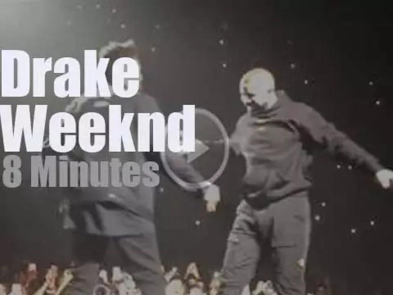 Drake joins Weeknd in Toronto (2017)