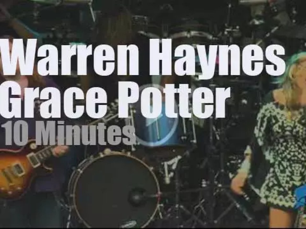 Warren Haynes joins Grace Potter & The Nocturnals (2011 )
