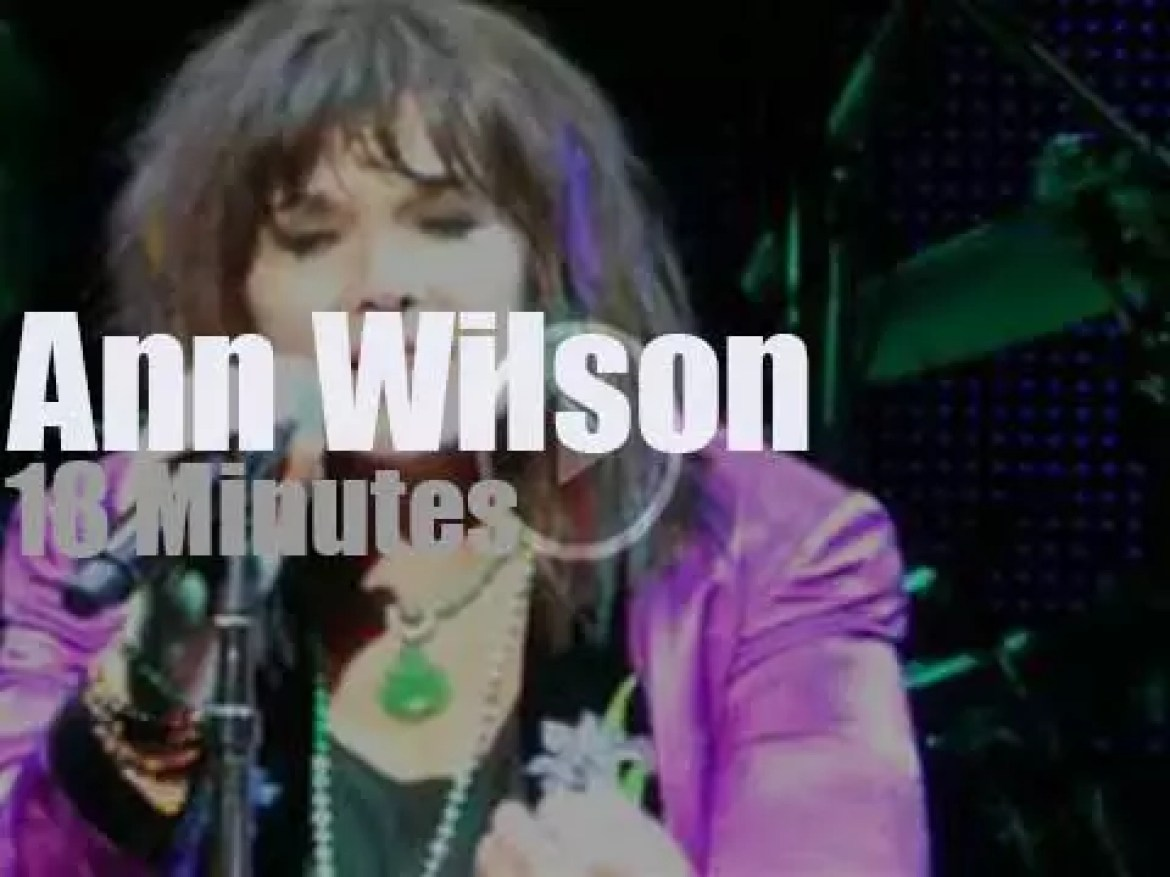 Ann Wilson of Heart goes her own way (2017)