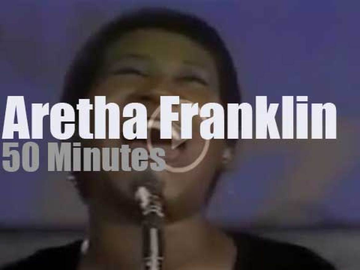 Aretha Franklin sings in Montreux (1971)