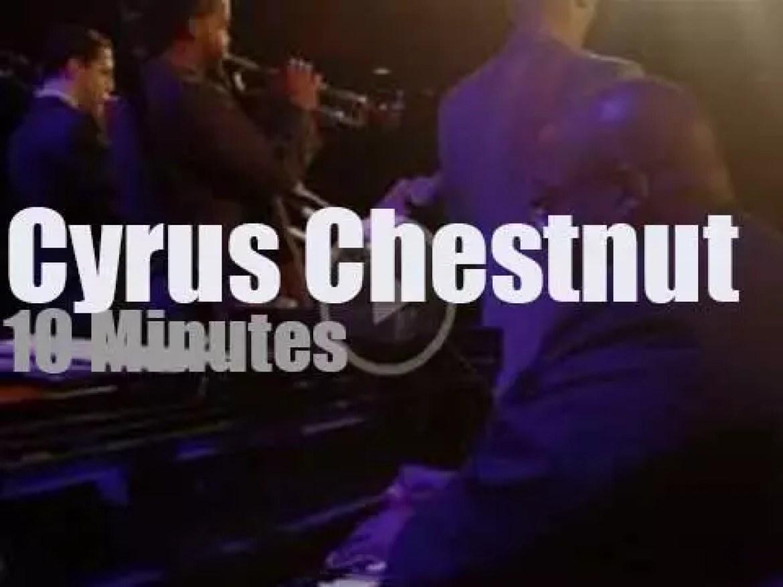Cyrus Chestnut teams up with Berklee students (2013)