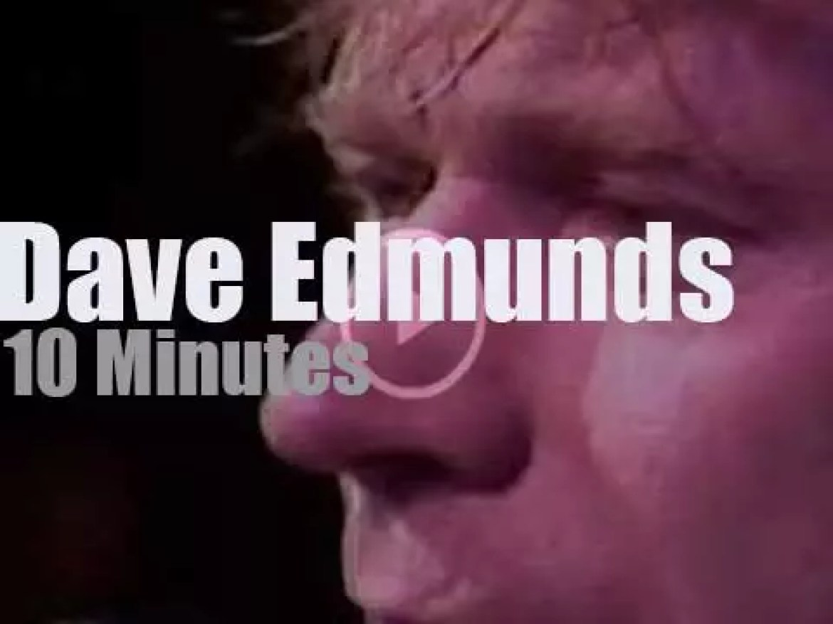 Dave Edmunds comes back to New-Jersey (1982)