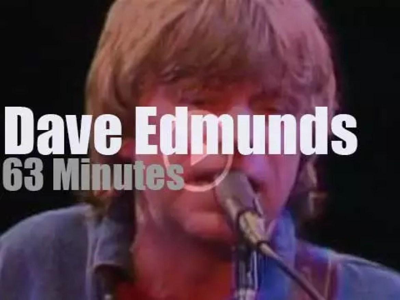 Dave Edmunds rocks New-Jersey (1982)
