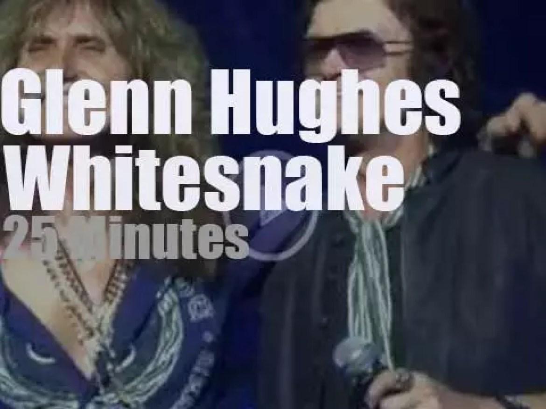 Glenn Hughes  sits in with Whitesnake (2015)