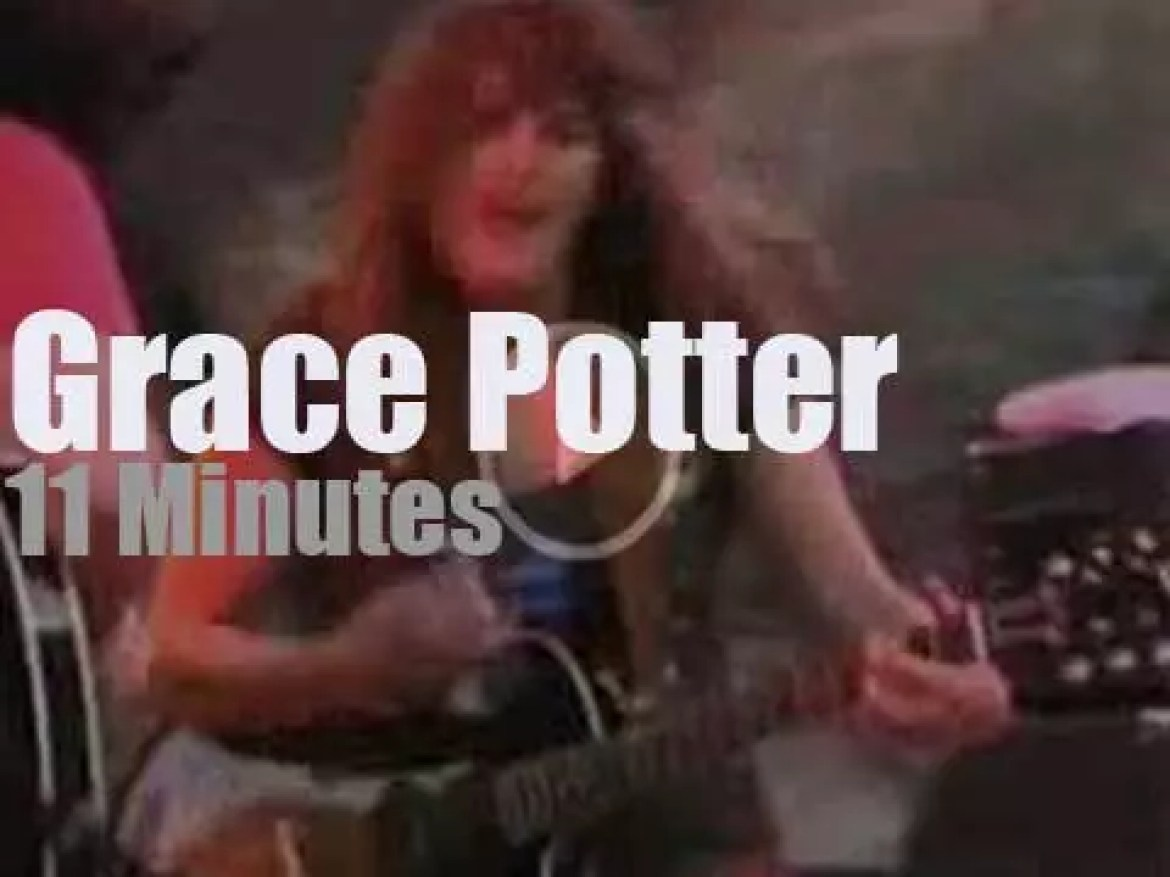 Grace Potter takes The Nocturnals to Red Rocks (2006)