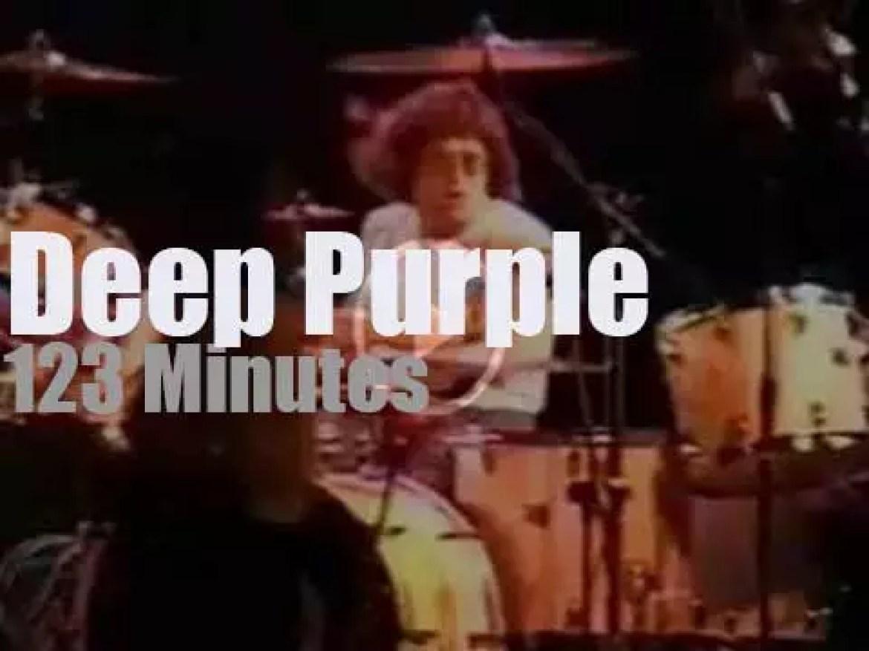 Joe Satriani sits in with Deep Purple (1994)