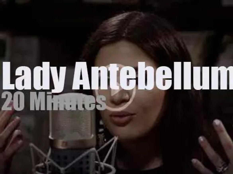 Lady Antebellum play a short set at Paste Studios (2017)