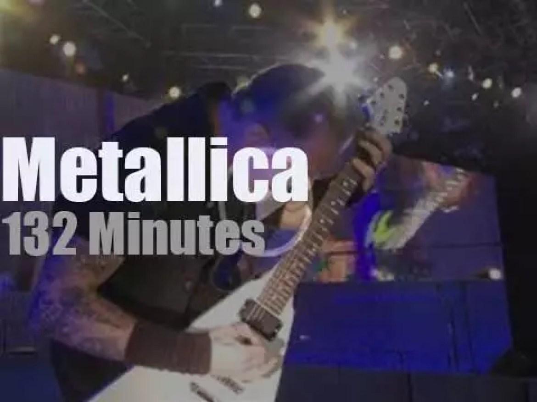 Metallica serenade Mexico (2009)