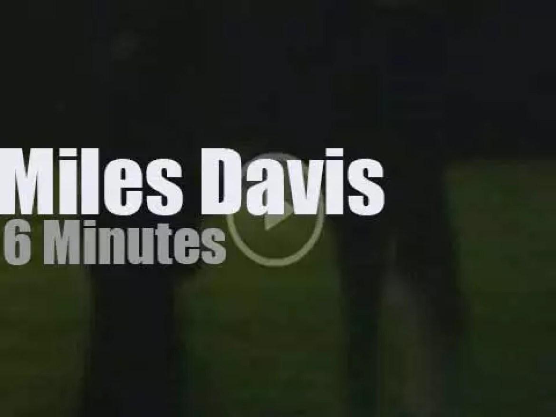 Miles Davis plays at Umbria Jazz Festival (1985)