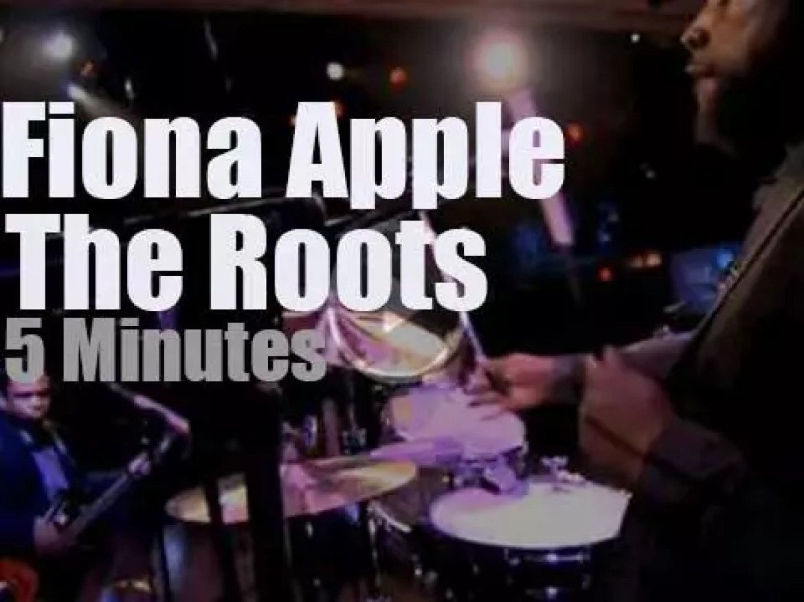 On TV today, Fiona Apple and The Roots cover Paul McCartney (2012)