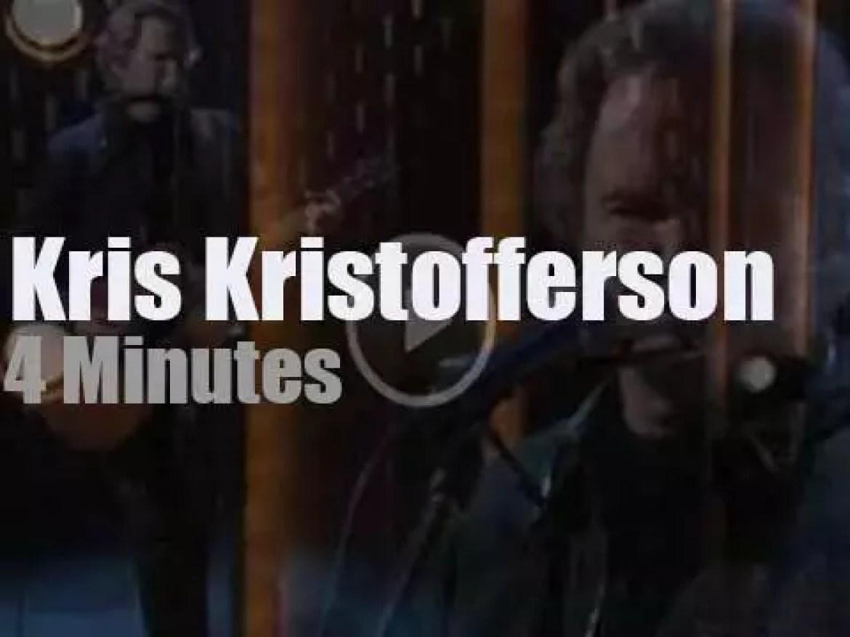 On TV today, Kris Kristofferson with Conan (2006)
