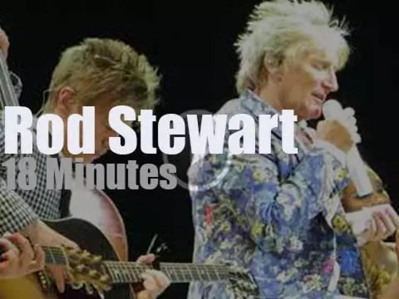 Rod Stewart returns to Las Vegas (2018)