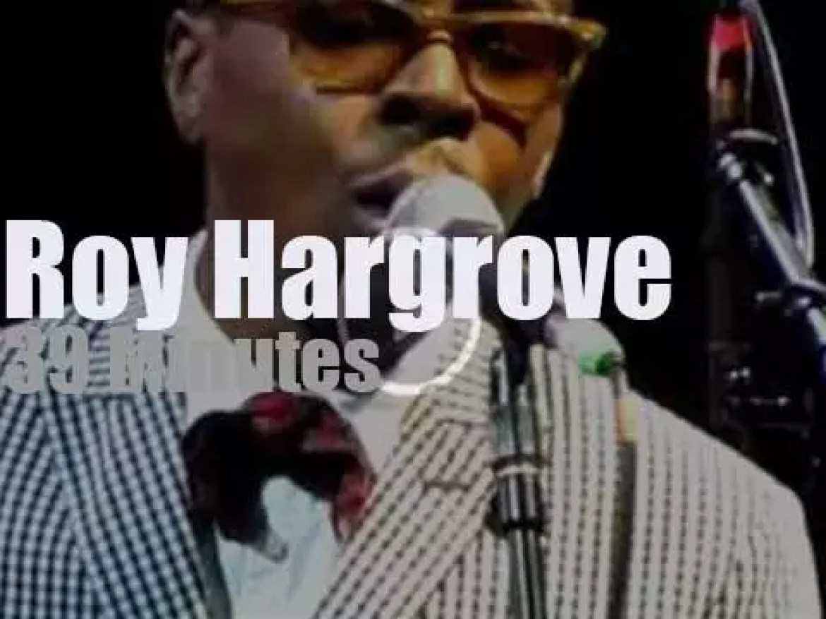 Roy Hargrove Quintet, performs in Brooklyn (2011)