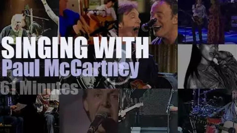 Singing With Paul McCartney