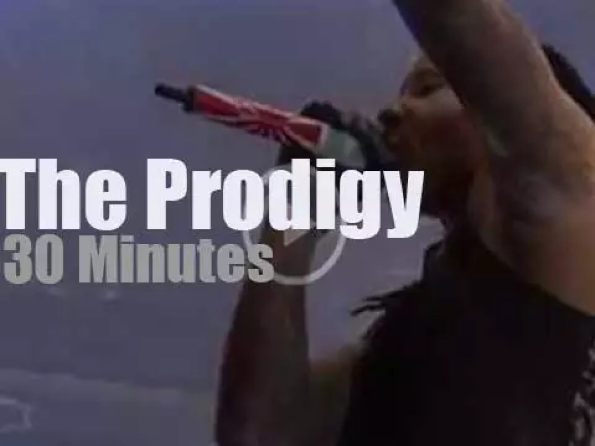 The Prodigy attend a rock festival in Germany  (2015)