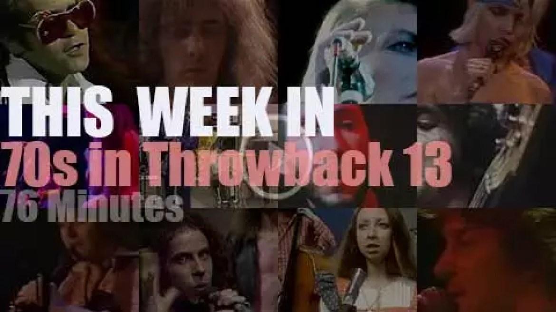This week In  '70s Throwback' 13