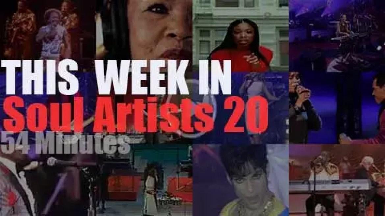 This week In Soul Artists 20
