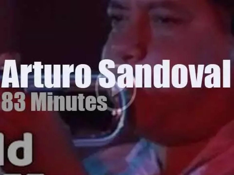 Arturo Sandoval  plays at North Sea Jazz (1986)