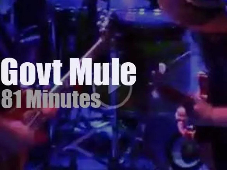 Gov't Mule  visit Colorado (2017)