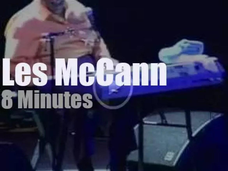Les McCann attends an Austrian festival (2005)