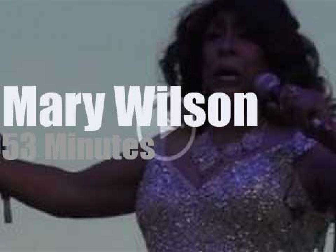 Mary Wilson revisits the Supremes and more (2018)