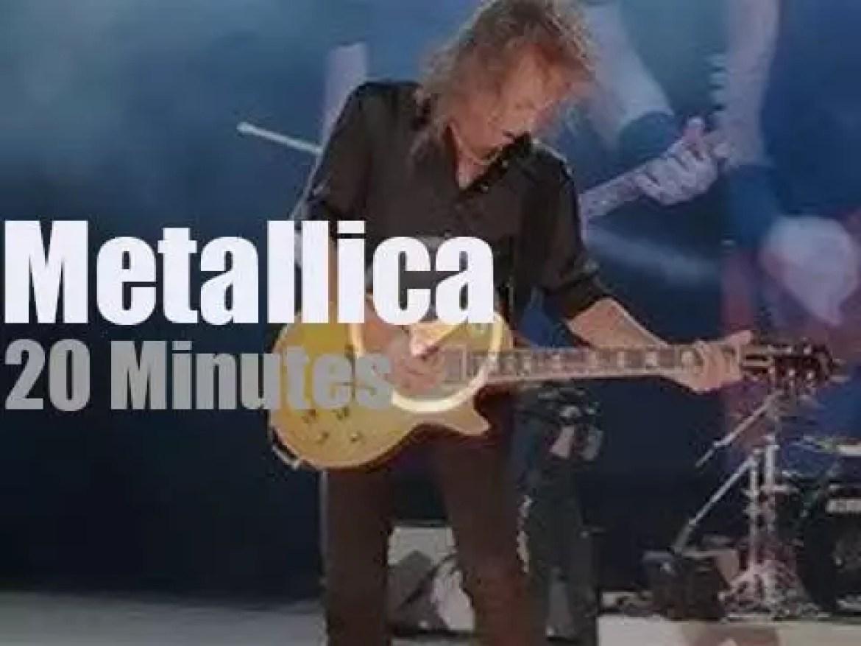 Metallica serenade Quebec (2017)