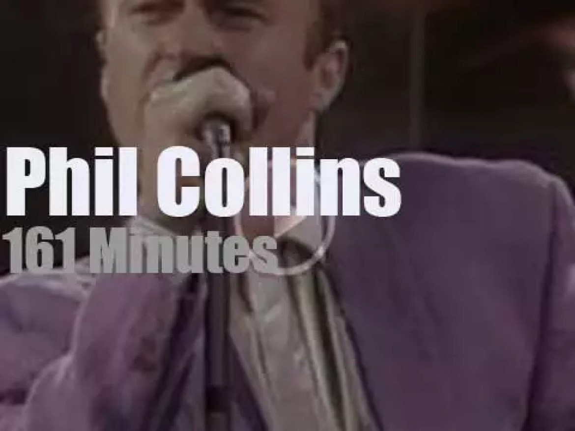Phil Collins is 'Seriously' Live in Berlin (1990)