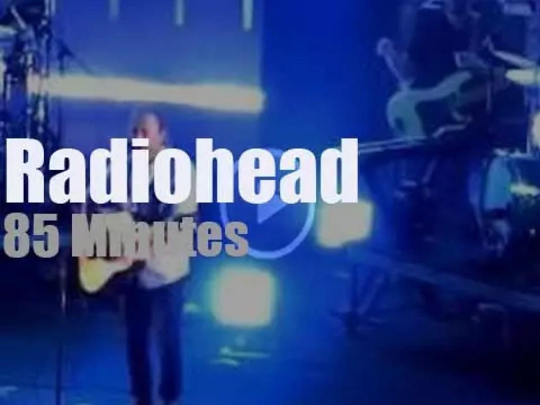 Radiohead play at a Roman amphitheatre (2012)