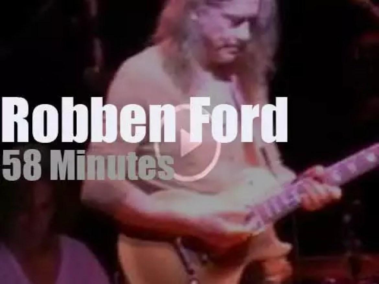 Robben Ford bluesifies New-Jersey (2012)