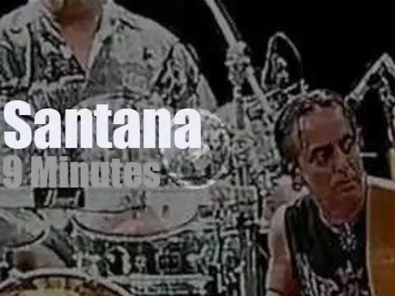 Santana perform in Toronto (2012)