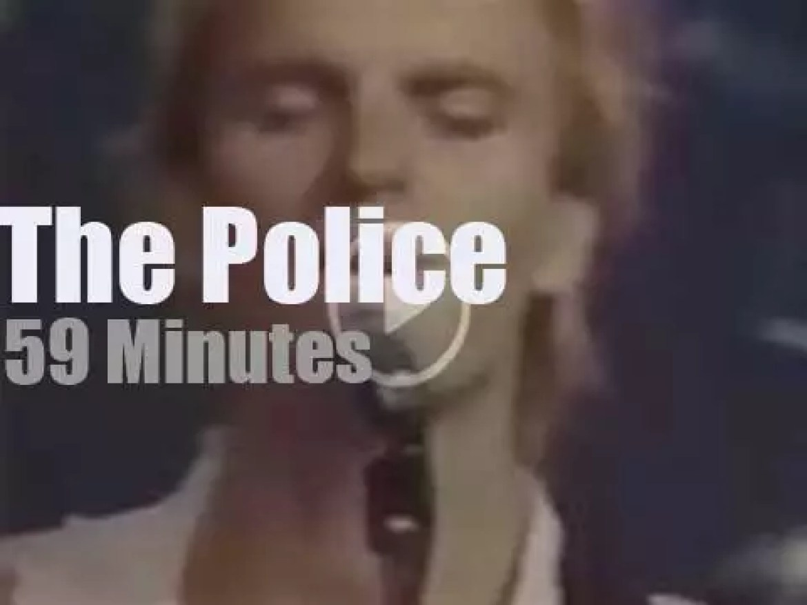 The Police synchronize Montreal (1983)