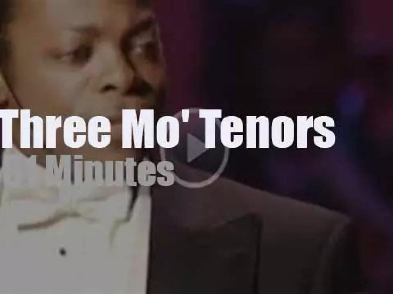Three Mo' Tenors sing in Ohio (2001)
