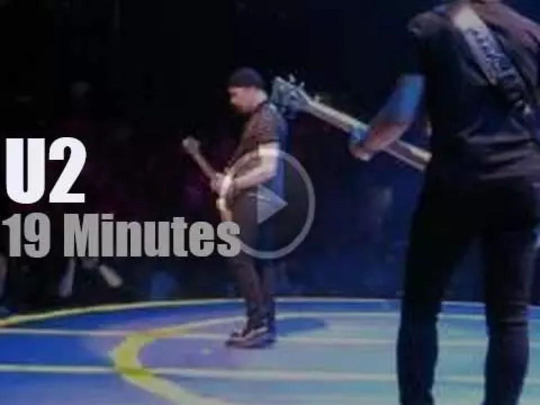U2 spend four nights in Boston (2015)