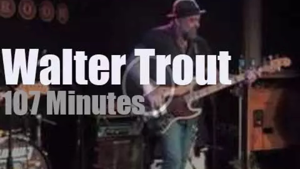 Walter Trout , family and friends spend an evening in Iowa (2015)