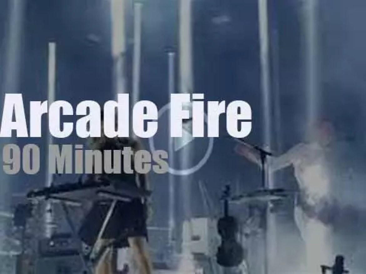 Arcade Fire play at home (2017)