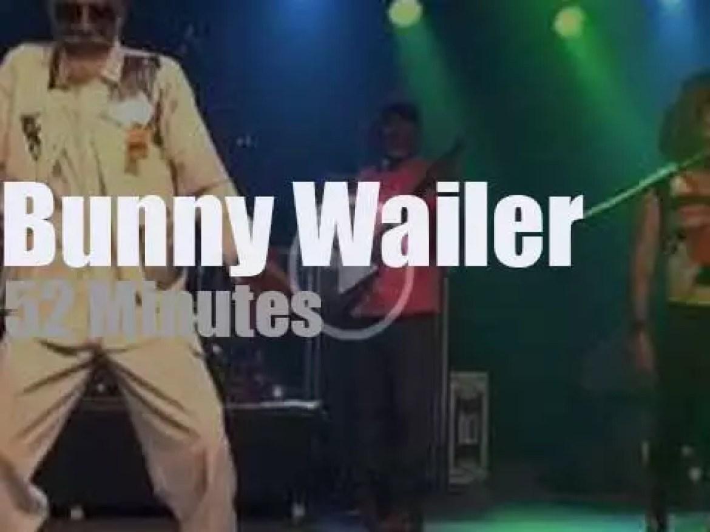 Bunny Wailer rocks Berlin (2015)