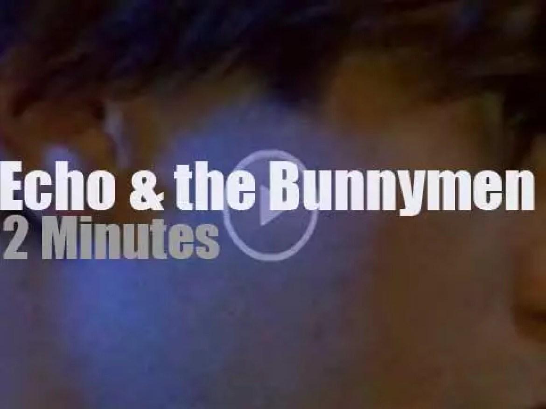 Echo & the Bunnymen play in London (1980)