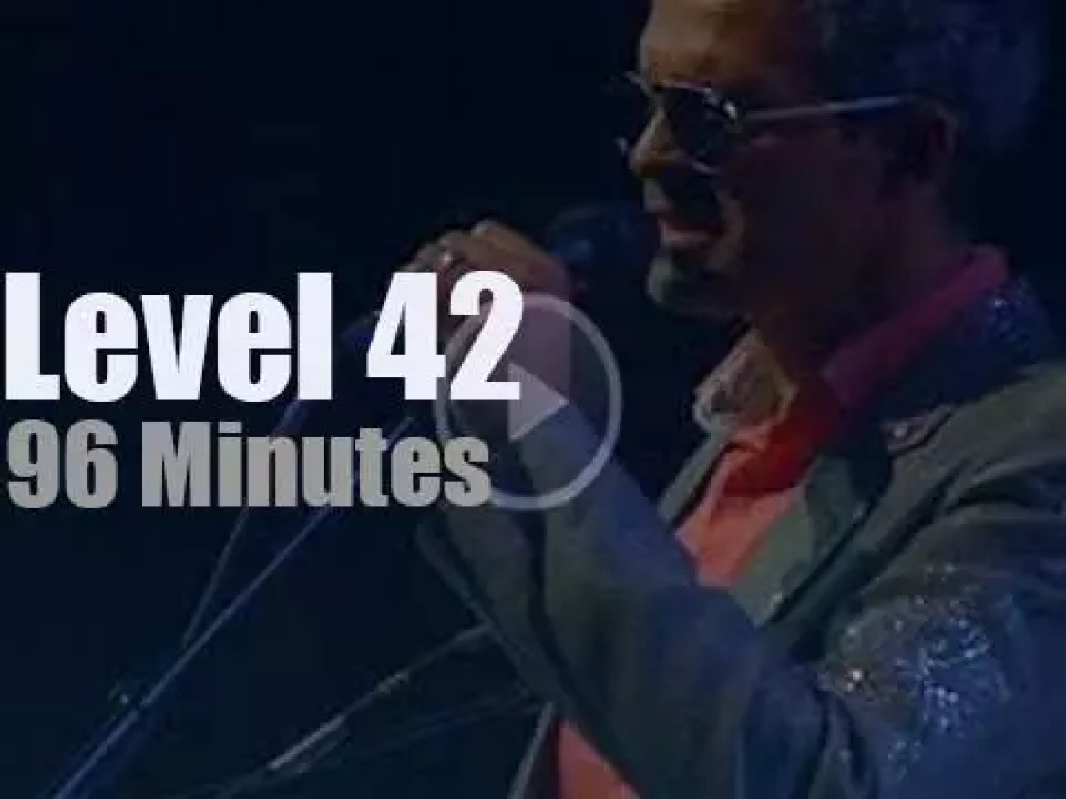 Level 42 and Mark King revisit their classics (2015)
