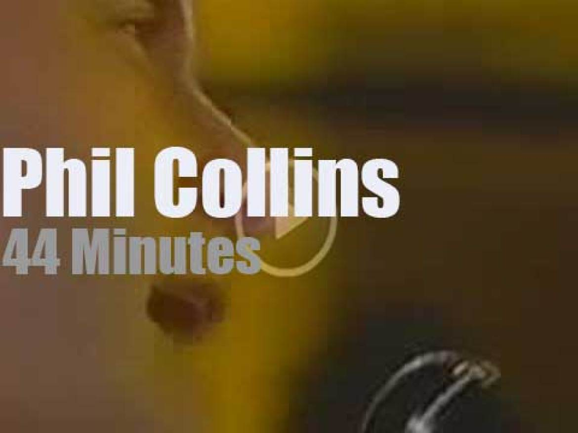MTV tapes Phil Collins 'Unplugged' (1994)