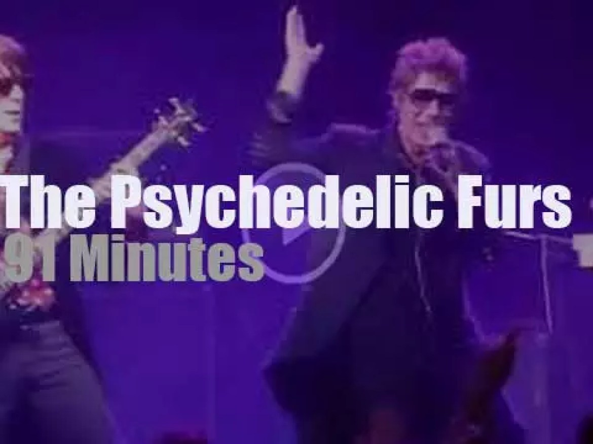 The Psychedelic Furs travel to Glasgow (2017)
