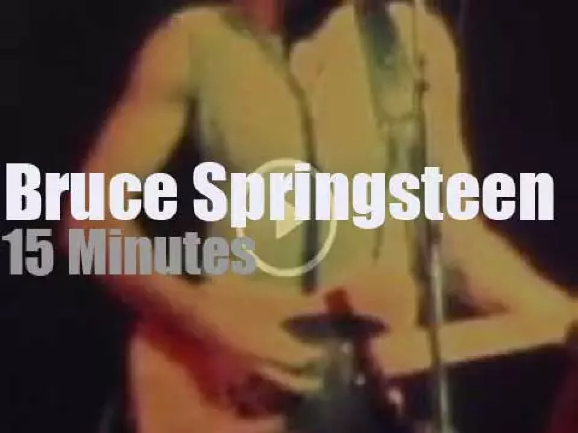 Bruce Springsteen brings The E Street Band to Houston (1975)